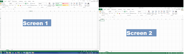 Excel 2013 dual screen(1)