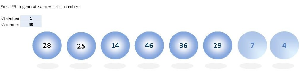 Lucky Number Generator