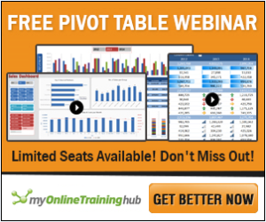 Pivot Table Webinar