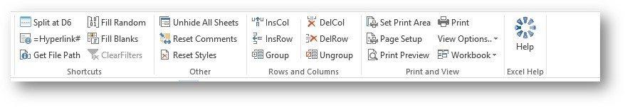 Excel Toolbar 2