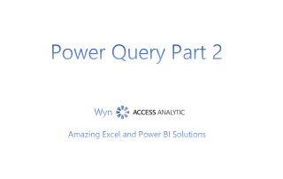 Power Query 2