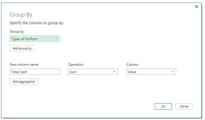 Power Query data cleansing