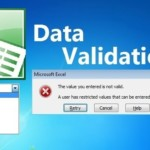 Dynamic Data Validation with Tables in Excel