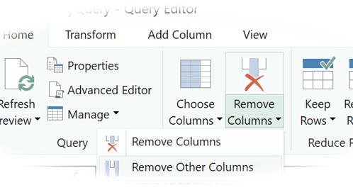 Power Query - Query Editor