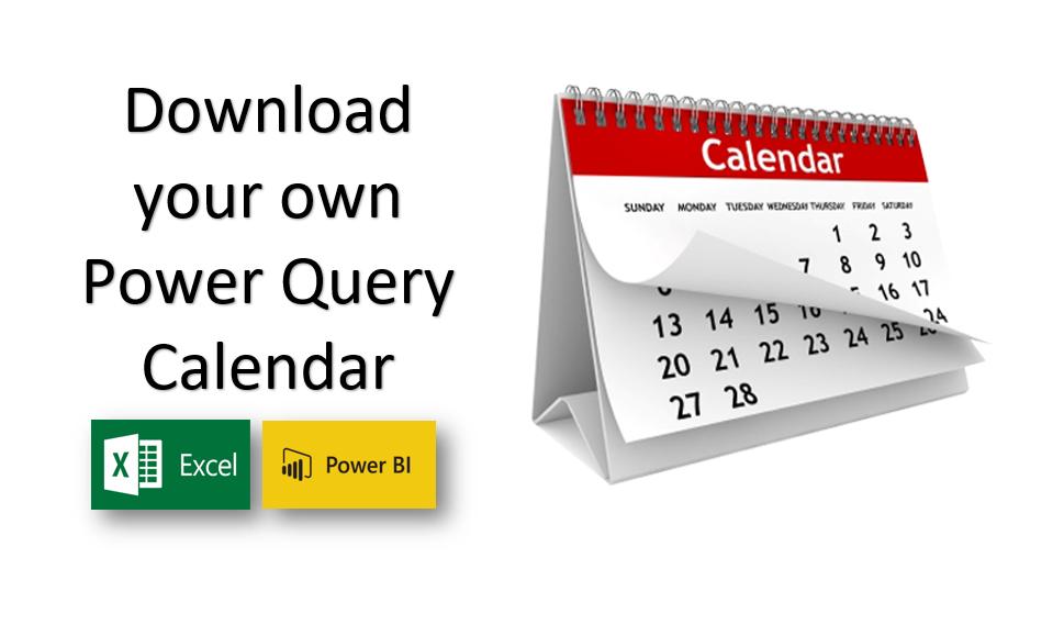 Power Query Calendar