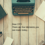 Letter to the CFO – Key decisions for a more efficient business