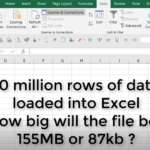 10 Million rows of data in Excel?