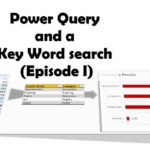 Power Query and a Key Word search